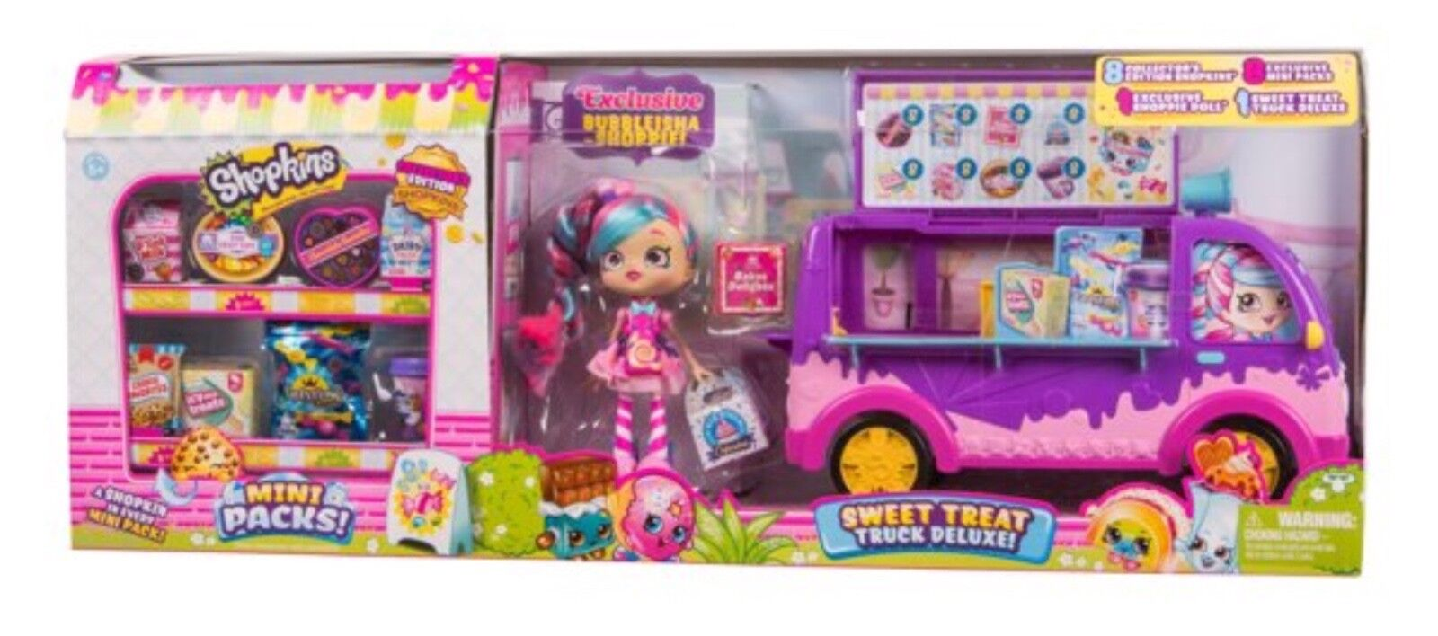 Shopkins Sweet Treat Deluxe mit 8 Exclusiv Staffel 10 Shopkins