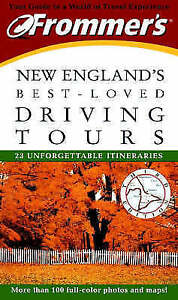 Frommers-New-Englands-Best-loved-Driving-Tours-Arnold-Kathy-amp-Wade-Paul-Used