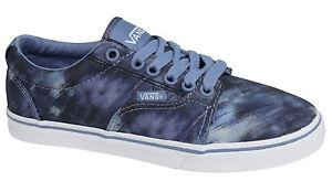 zapatillas vans azules mujer