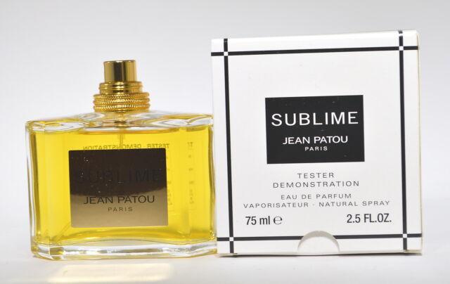 Sublime Eau de Parfum Spray 75mL-2.5 oz By Jean Patou Tester No Cap