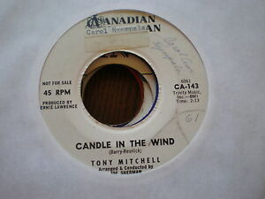 Tony-Mitchell-45-Candle-In-The-Wind-CANADIAN-AMERICAN