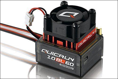 HobbyWing QuicRun 1 10 Brushless Sensored 60A ESC 10BL60 RC Car 1 10 On Off Road