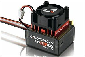 Hobbywing - Quicrun-10bl60-sensored Esc (1/10, 1/12)