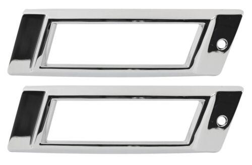 1968 Impala Biscayne Rear Marker Light Chrome Bezel Made in the USA