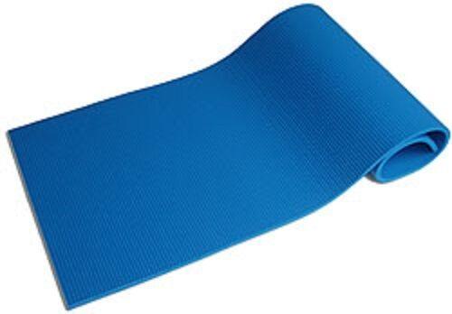 Spartan-tapis gymnastique tapis bleu mousse très garantissant une préhension ferme. yoga-tapis 1275