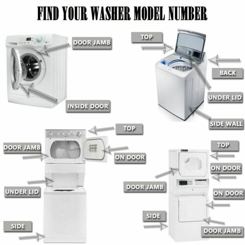Replacement Washer Latch Compatible For Whirlpool W11188327 AP6286628 PS12348765