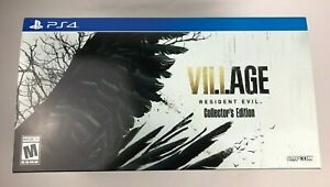 Resident Evil 8 VIII Village Collectors Edition Premium Packaging for PS4 ONLY