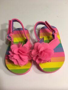 Infant Sandal Girls Shoes Size 5 Multi