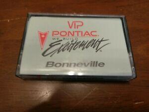 Pontiac-Bonneville-Instructions-Cassette-Tape