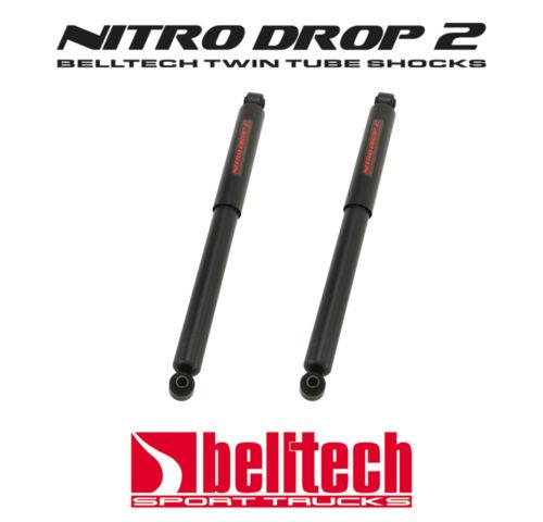 """6/"""" Drop 07-18 Silverado//Sierra Nitro Drop 2 Rear Shocks for 5/"""" Pair"""