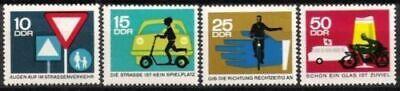 Diszipliniert Ddr Nr.1169/72 ** Straßenverkehr (i) 1966, Postfrisch