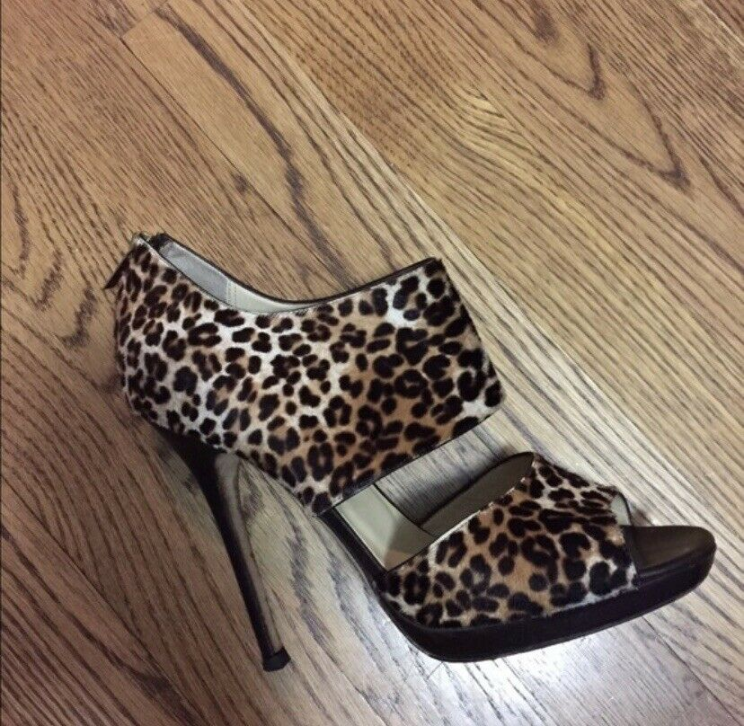 JIMMIY CHOO Pony Hair - Leather  Platform formato scarpe 40 Cheetah Pattern  vendita online risparmia il 70%