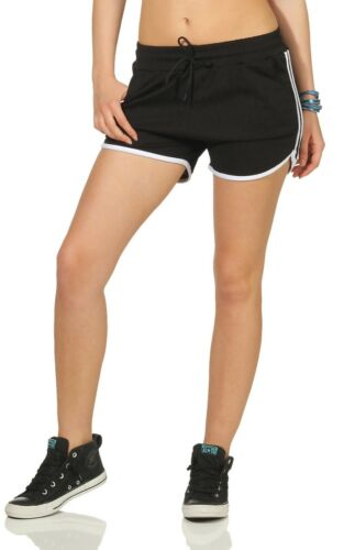 Sporthose kurz Damen Sport-Shorts JOGGER SHORTS Gr kurze Turnhose 36-40
