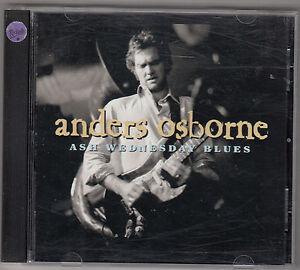 ANDERS OSBORNE - ash wednesday blues CD - Italia - ANDERS OSBORNE - ash wednesday blues CD - Italia