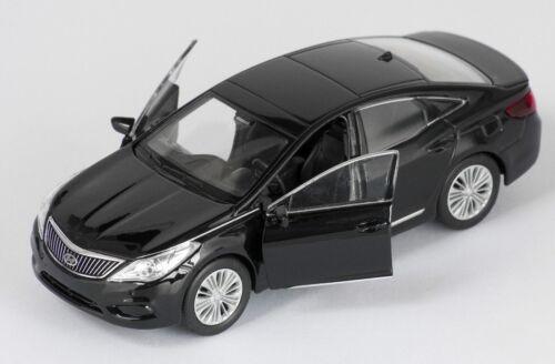 black Welly Modell Auto 1:34 NEU /& OVP BLITZ VERSAND Hyundai Grandeur schwarz