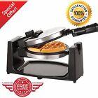 Belgian Waffle Maker Commercial Double Waring Breakfast Iron Kitchen Heavy NEW!