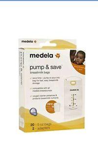 Medela T Milk Storage Bags Pump
