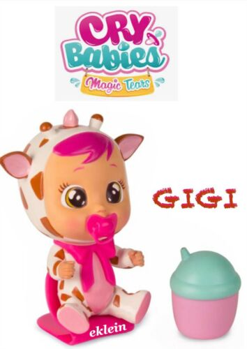 Cry Babies Magic Tears The Giraffe GIGI Bottle House Series Doll Mostly Sealed