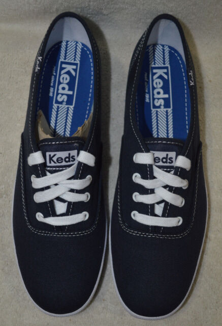 8993dacd136 Keds Champion Oxford Canvas Wf34200 Navy Womens US Size 10 UK 8 for ...