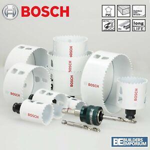 Bosch-Hole-Saw-Cutter-Bit-HSS-Bi-Metal-Wood-Plastic-Quick-Change-Release-Holesaw