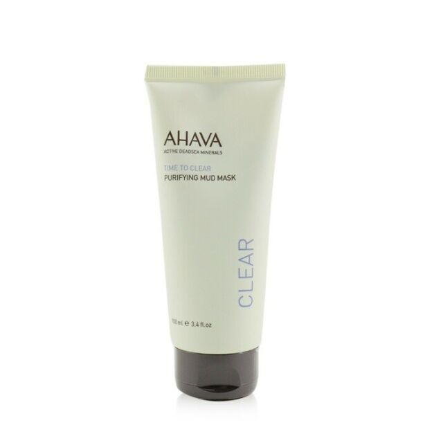 NEW Ahava Time To Clear Purifying Mud Mask 100ml Womens Skin Care