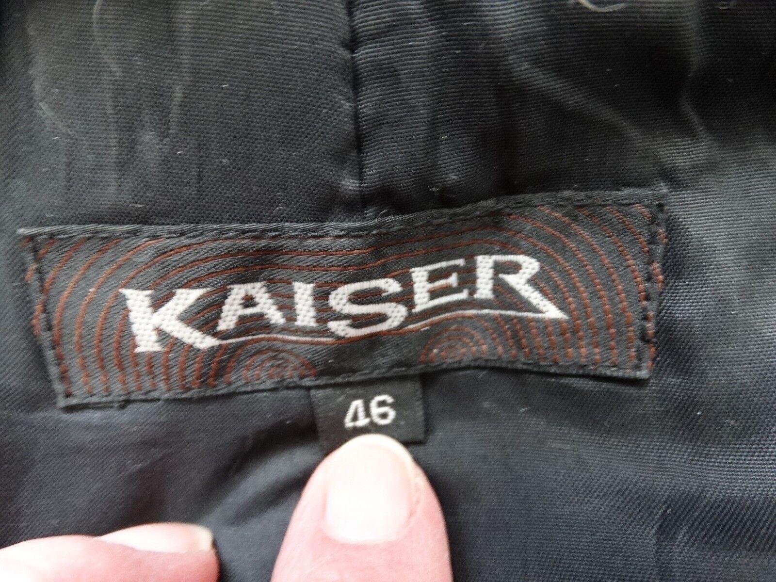 KAISER LAMB LEATHER LAMB FUR FUR FUR COAT 46 3ac8eb