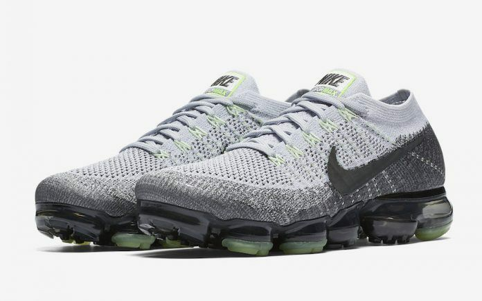 Nike Air VaporMax Flyknit size 12. Heritage Neon Pack Pure Platinum. 922915-002. Cheap women's shoes women's shoes