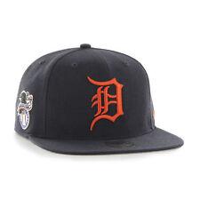 Detroit Tigers '47 Brand Sure Shot Captain Navy Blue Flat Brim Snapback Hat