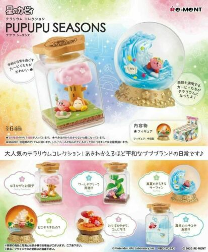 PSL Kirby of the Stars Terrarium Collection PUPUPU SEASONS 6 Complete Box Japan