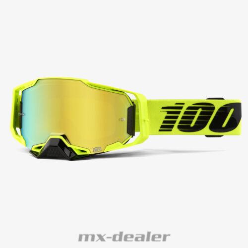 100 /% Armega verspiegelt 2020 Nuclear Circus  MX Motocross Cross Brille MTB BMX