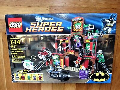 for Set 6857 Dynamic Duo Funhouse Manuals ONLY Lego NEW Instructions