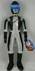 "New Disney Store Black Power Rangers Operation Overdrive 16"" Plush Toy Doll Rare"