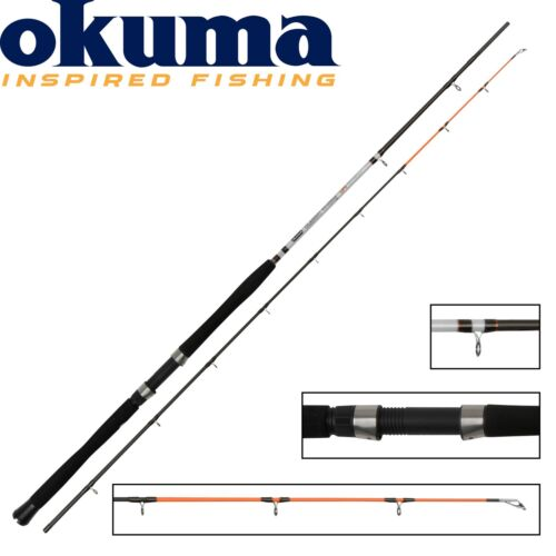 Okuma Classic UFR Trolling Schlepprute 240cm 10-30lbs Trollingrute zum Schleppen