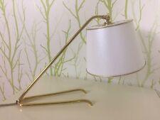 50er Design Lampe Messing Nikoll Kalmar Stilnovo 50s Brass Table Lamp Krähenfuß