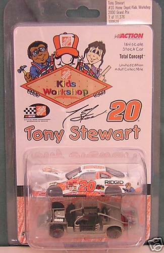 ACTION-2000 ACTION-2000 ACTION-2000 TOTAL CONCEPT-TONY STEWART  20 HD/KID'S WOR 735470