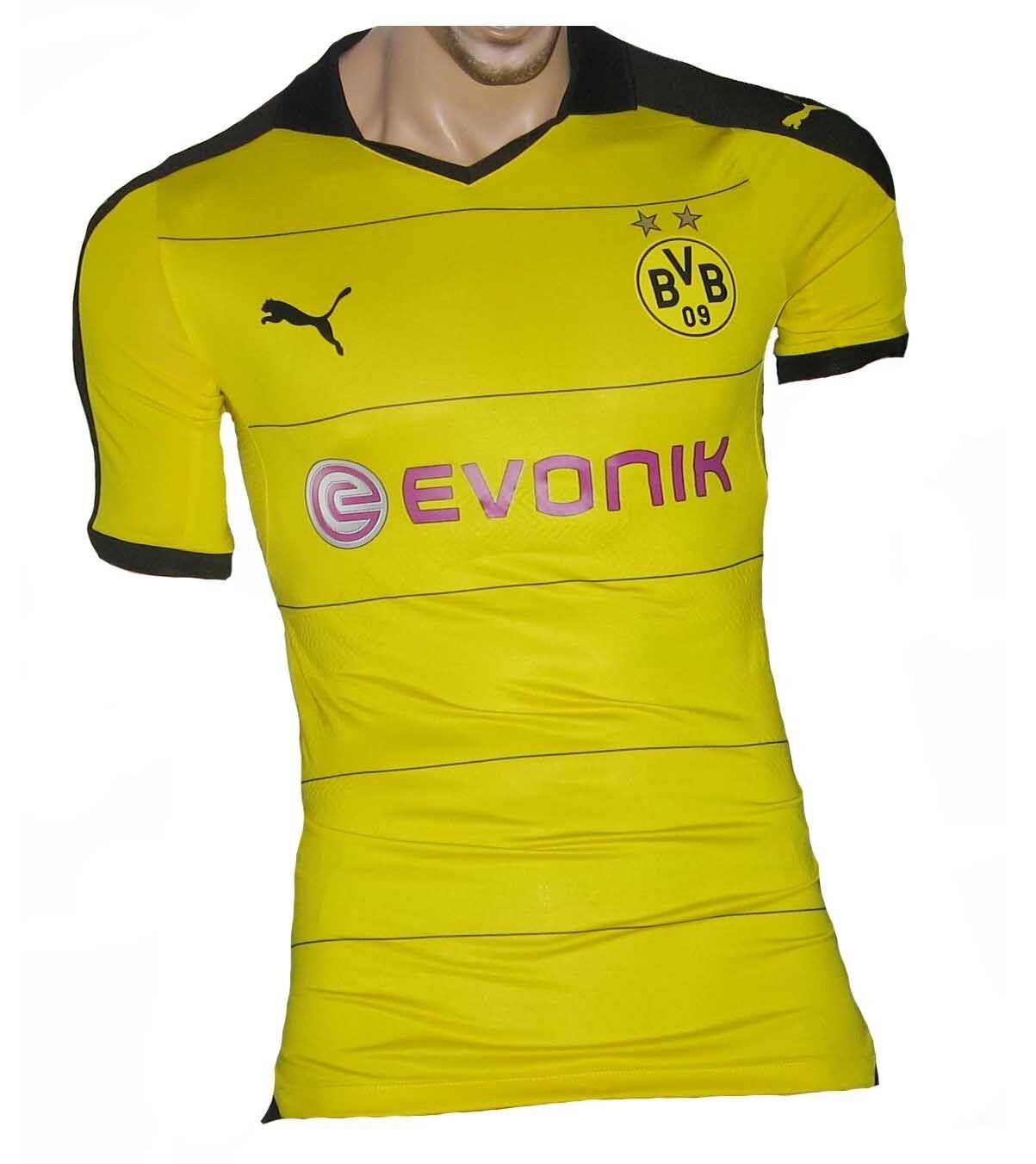 Borussia Dortmund BVB Authentic Trikot Puma 15 16