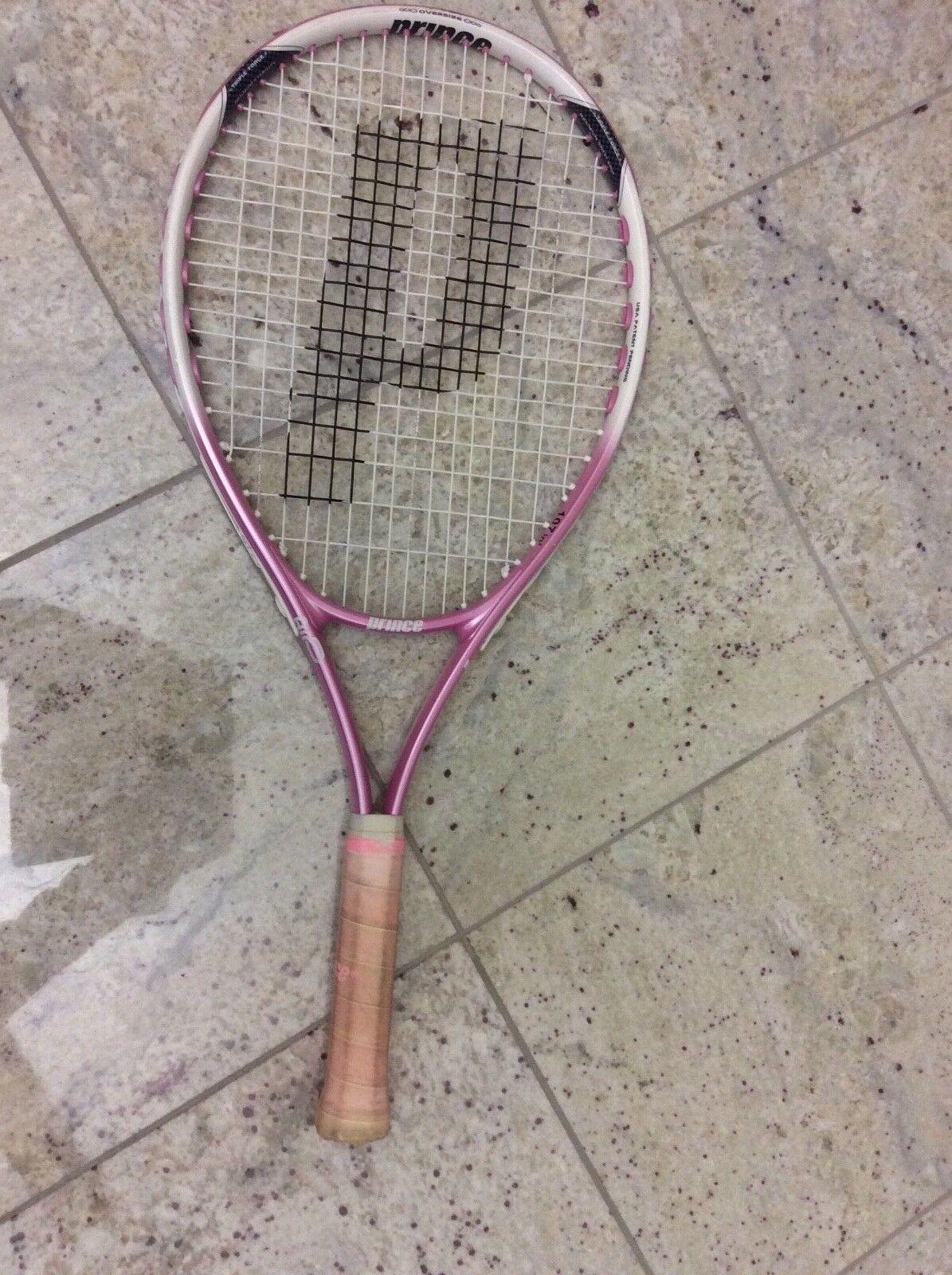 """Pink Prince Sharapova 25 Air Tennis Racquet 25"""" 4-1 8"""""""