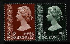 Hong Kong SC# 278 and 283, Mint Never Hinged, 278 few dry gum spots - Lot 021917