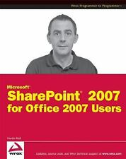 Microsoft SharePoint 2007 for Office 2007 Users-ExLibrary