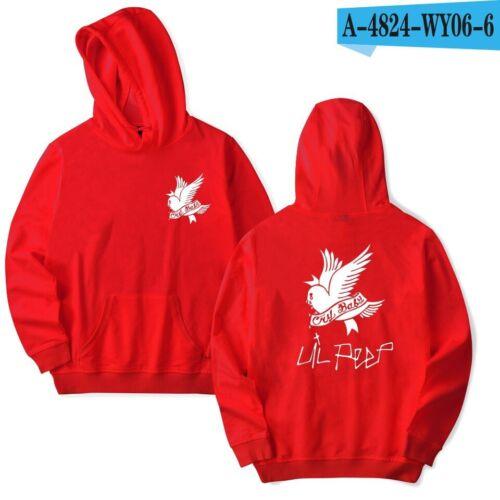 Unisex Sweatshirt Pullover Lil Peep Hip-Hop Jacket Rapper Bird Graffiti Hoodies