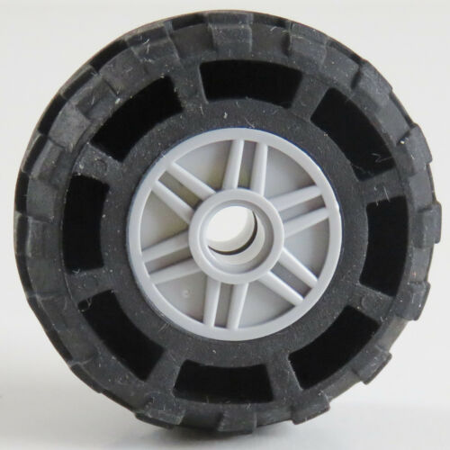 2 x LEGO Technic-Reifen hell blaugrau # 55981c04 Tire 37 x 18R mit Felge