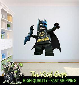 Lego-Batman-supereroe-Batarang-personaggio-decorazione-cameretta-per-bambini