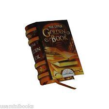 "New miniature book 1.4"" H The Little Golden Book hardcover bookmarker readable"