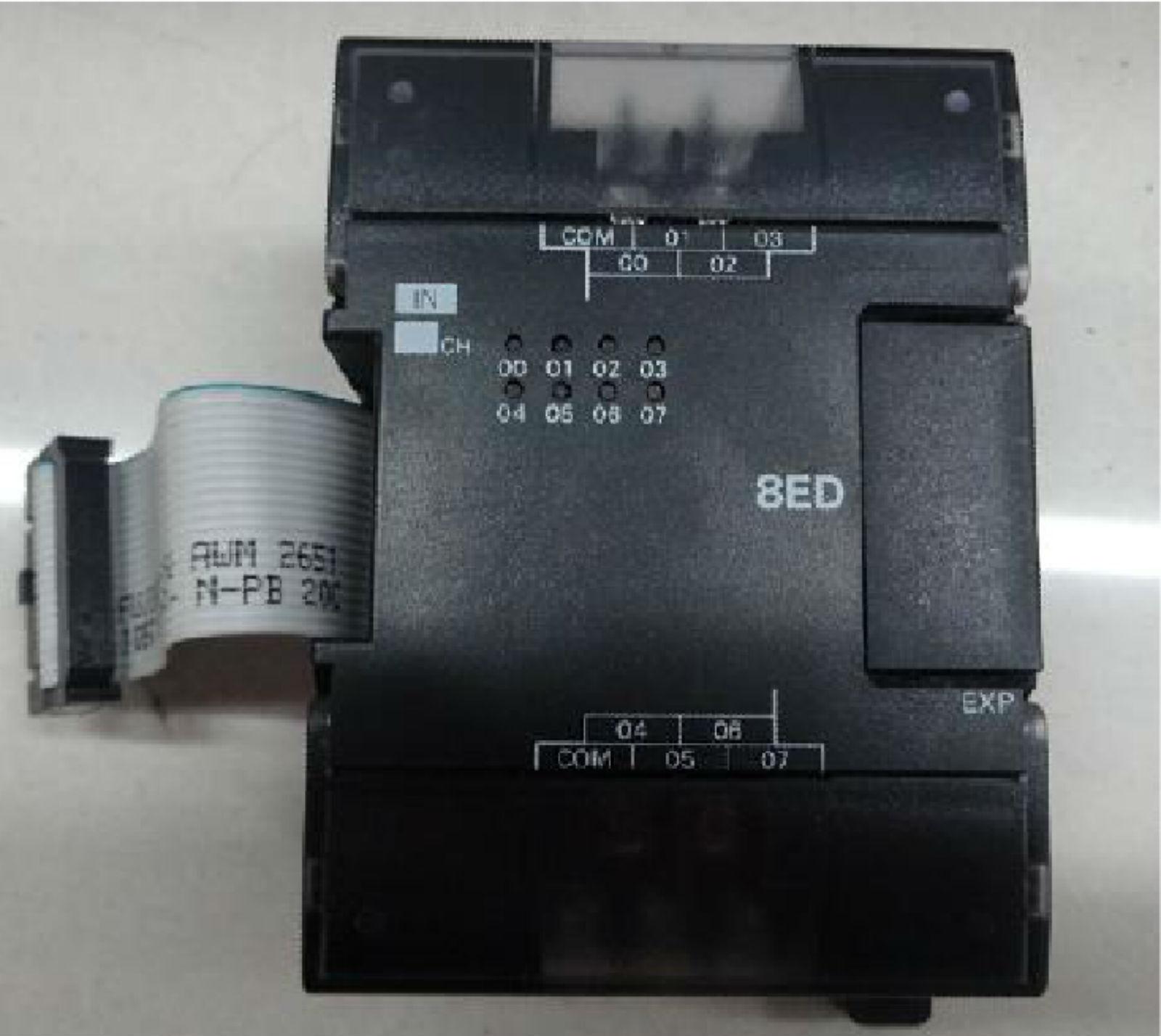 Used  Good OMRON PLC IN Unit CP1W-8ED CP1W8ED ( to replace CPM1A-8ED )  EV-R