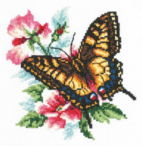 42-10 Kit Punto de Cruz Mariposa mahaon Art
