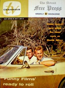 TV-Guide-1963-Route-66-Glenn-Corbett-Martin-Milner-Regional-TV-Channels-NM-COA