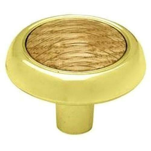 "P50030C-PBO-C  Polished Brass Oak 3/""  Design Cabinet Drawer Pull"