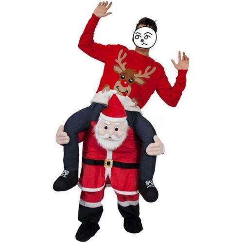 Karneval Weihnachten Kostüm Huckepack Trage Carry Me Ride On Party Fasching DHL