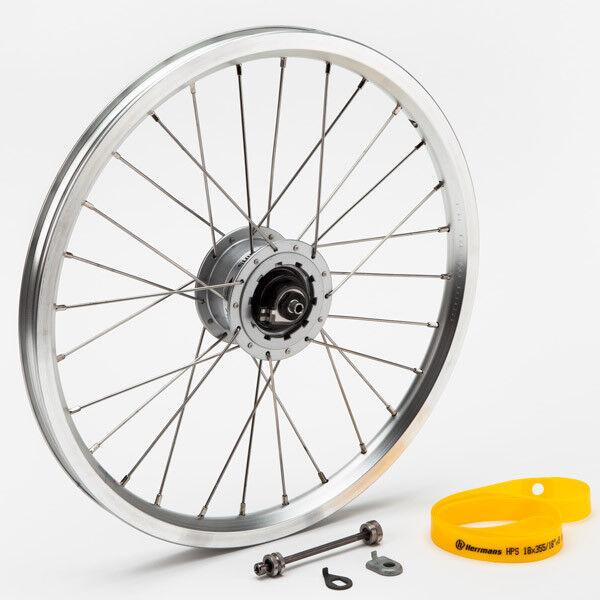 BROMPTON Front wheel Hub dynamo incl fittings - SON