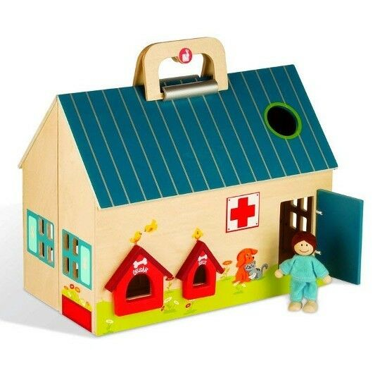 The Pet ClinicFrom The Mobil City Collection By JanodComplete With Accessories
